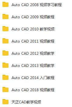 全套Auto CAD视频教程基础入门到精通